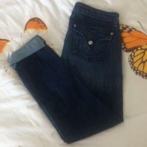 EUC Hudson Bacara Straight Flood Cuff Jeans